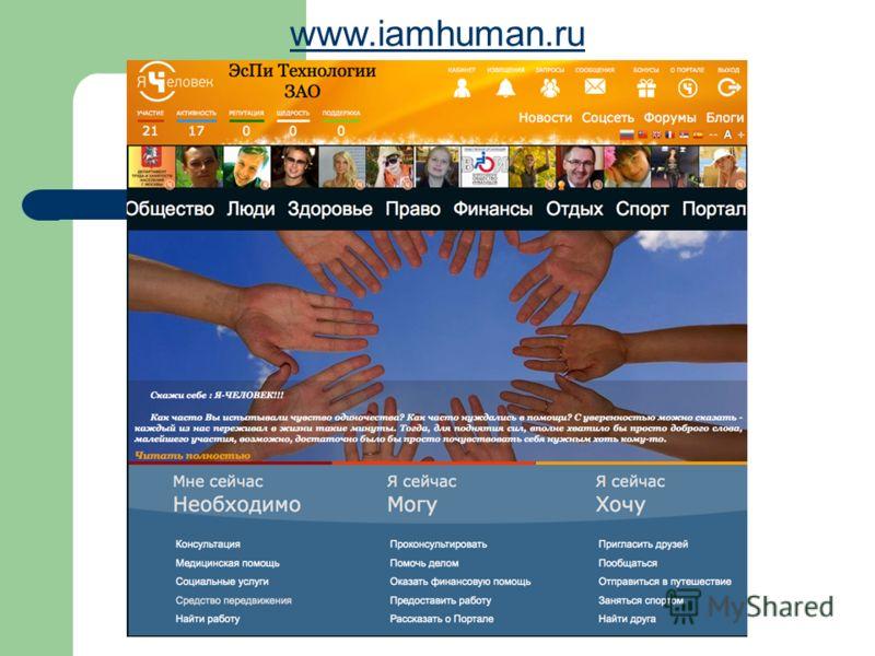 www.iamhuman.ru