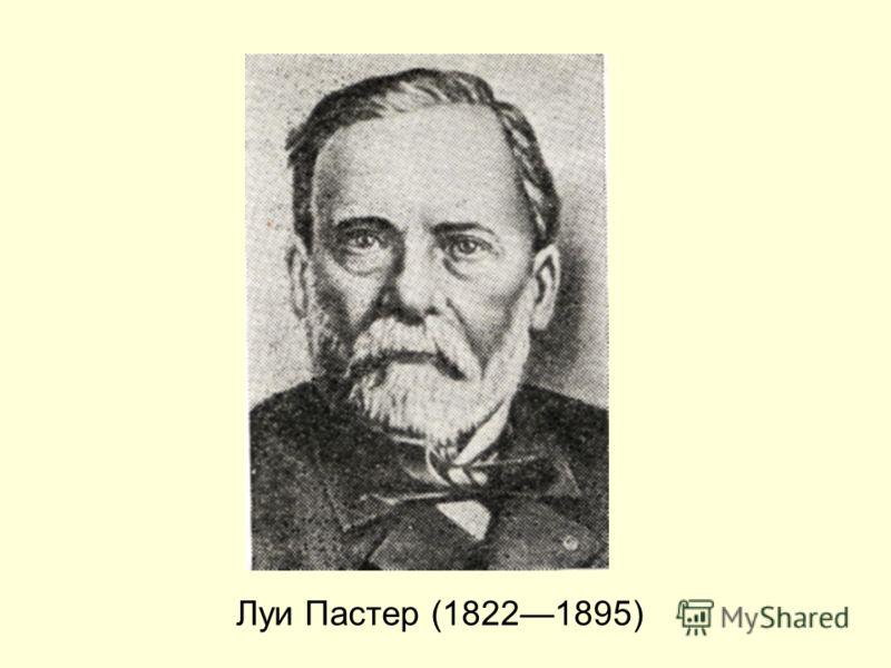 Луи Пастер (18221895)