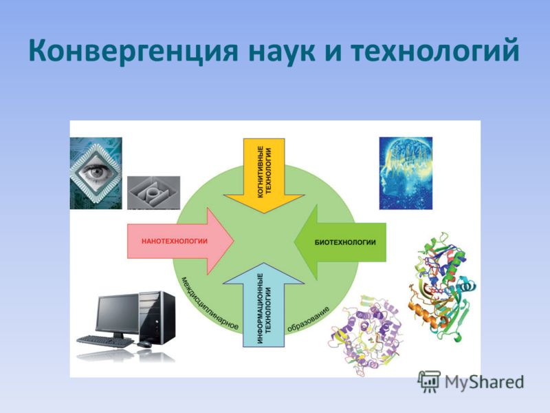 Конвергенция наук и технологий