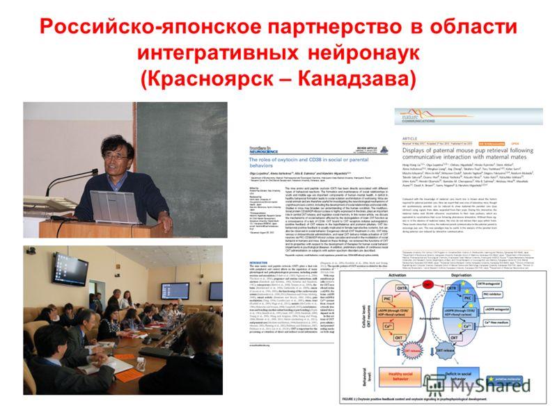 Российско-японское партнерство в области интегративных нейронаук (Красноярск – Канадзава)