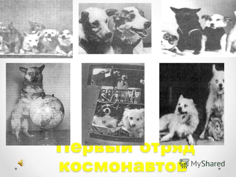 Первый отряд космонавтов Первый отряд космонавтов
