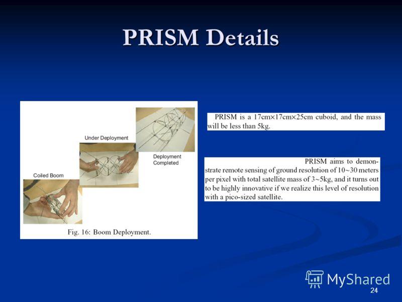 24 PRISM Details