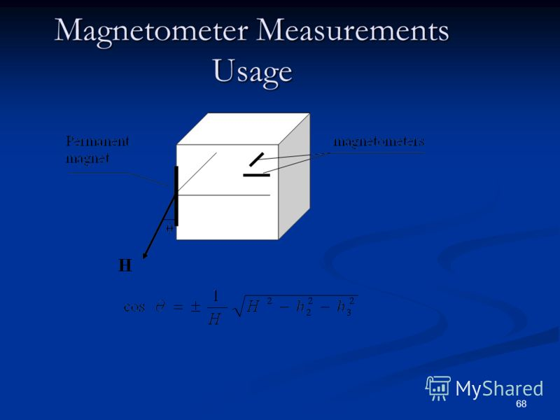 68 Magnetometer Measurements Usage