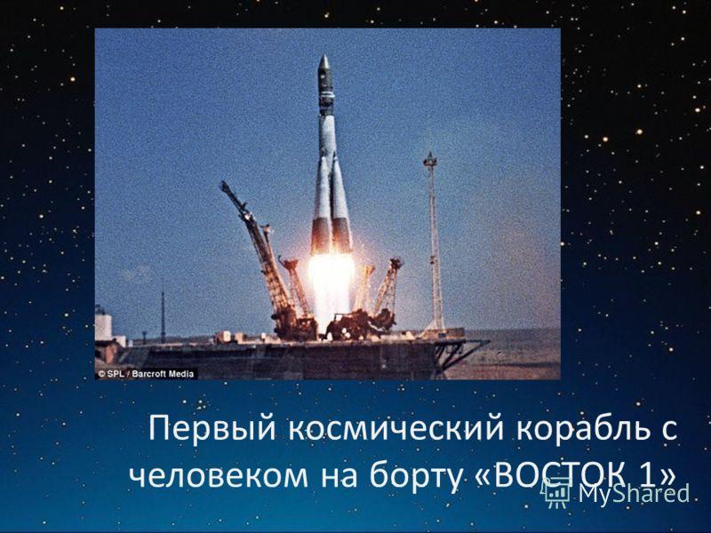 Первый космический корабль с человеком на борту «ВОСТОК 1»