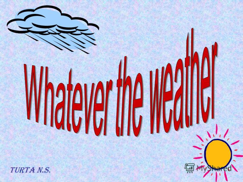 Тема : Погода Предмет : английский язык Класс : 6 ( общеобразовательный ) Школа : 435 Район : Курортный Дата разработки : сентябрь 2005 года Дата применения : декабрь 2005 года Преподаватель : Турта Надежда Сергеевна