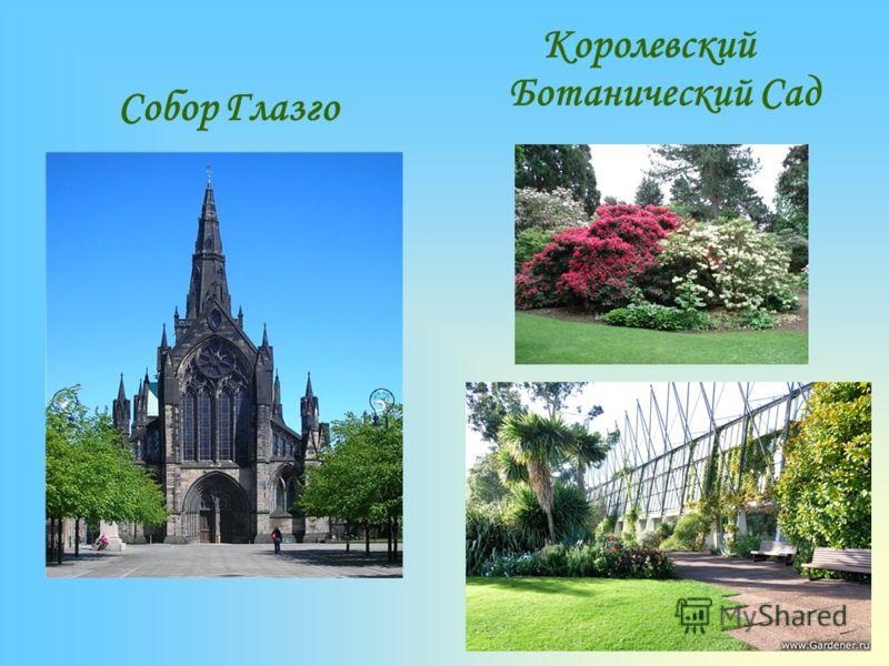 Собор Глазго Королевский Ботанический Сад