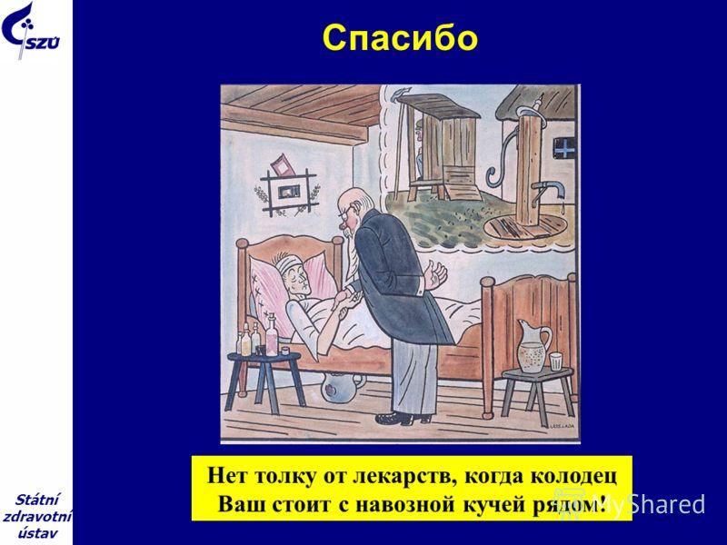 Státní zdravotní ústav Спасибо Нет толку от лекарств, когда колодец Ваш стоит с навозной кучей рядом!