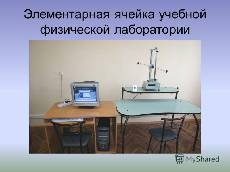 Элементарная ячейка учебной физической лаборатории