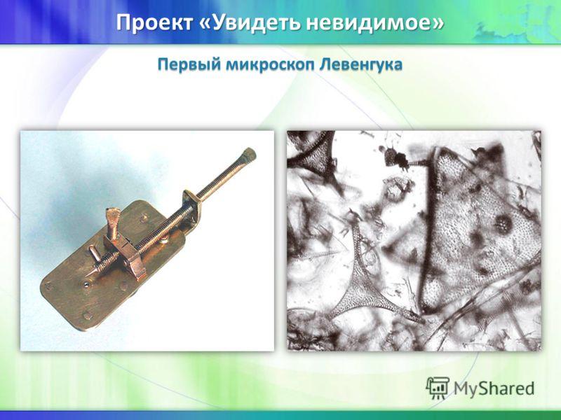 Первый микроскоп Левенгука