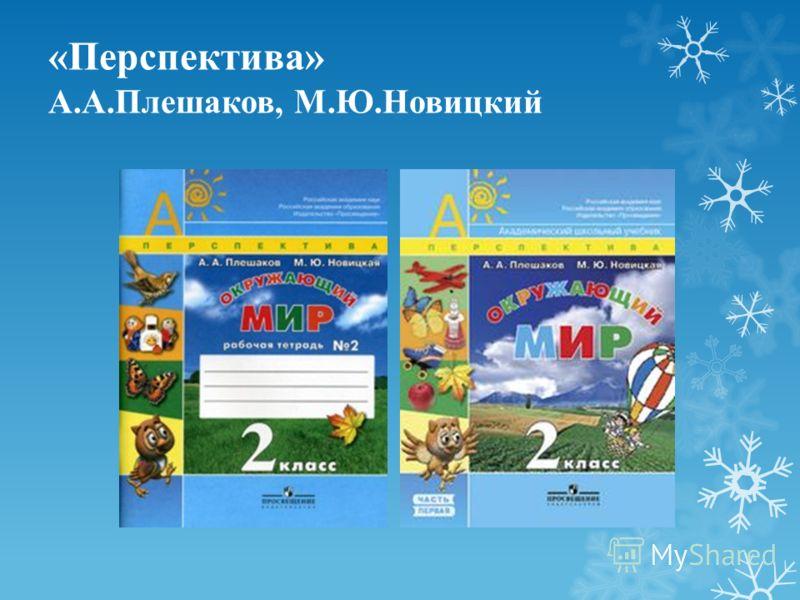 «Перспектива» А.А.Плешаков, М.Ю.Новицкий