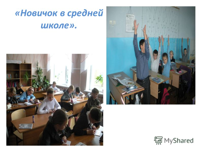 «Новичок в средней школе».