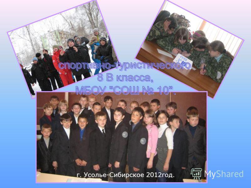 г. Усолье-Сибирское 2012год.