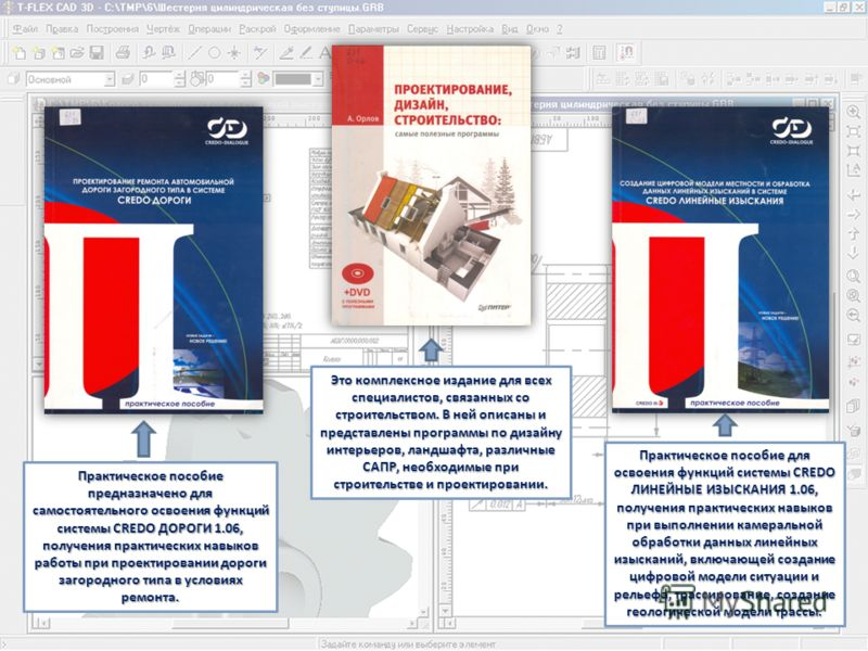 Это комплексное издание для всех специалистов, связанных со строительством. В ней описаны и представлены программы по дизайну интерьеров, ландшафта, различные САПР, необходимые при строительстве и проектировании. Практическое пособие предназначено дл