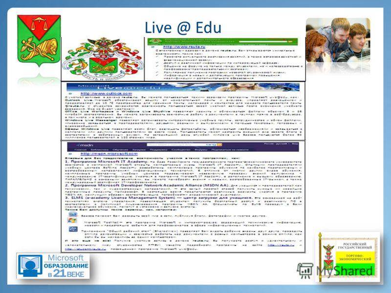Live @ Edu