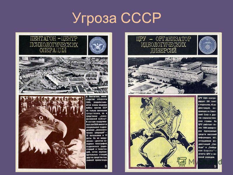 Угроза СССР