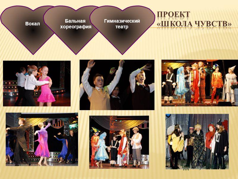 Вокал Бальная хореография Гимназический театр