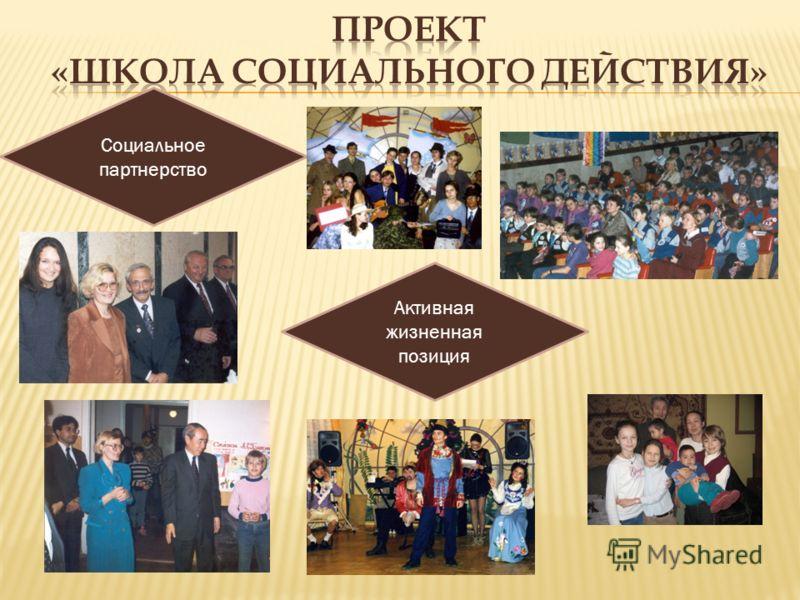 Социальное партнерство Активная жизненная позиция