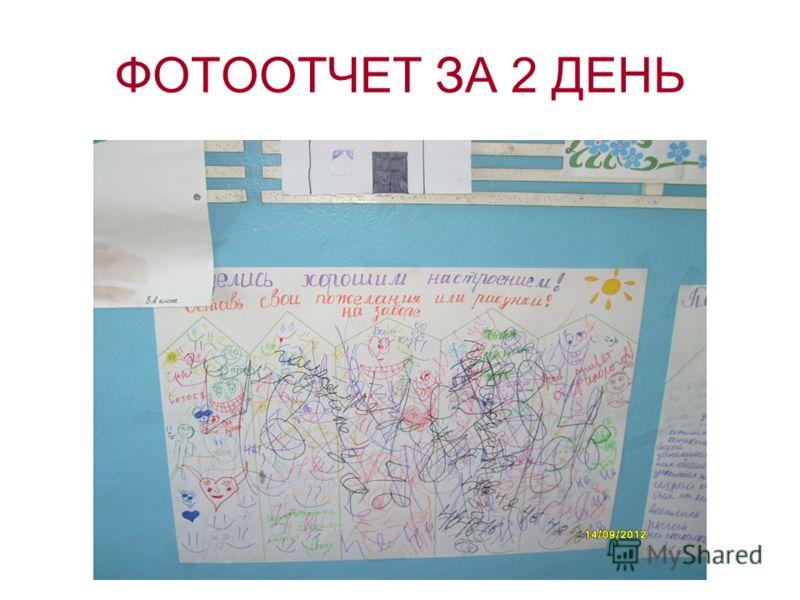 ФОТООТЧЕТ ЗА 2 ДЕНЬ