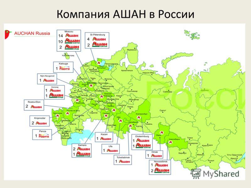 Компания АШАН в России