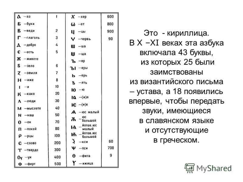 Чему учат славянские буквы? Они учат мудрости! Глаголь Добро Говори и делай доброе