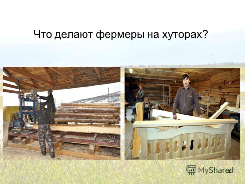 Что делают фермеры на хуторах? 4
