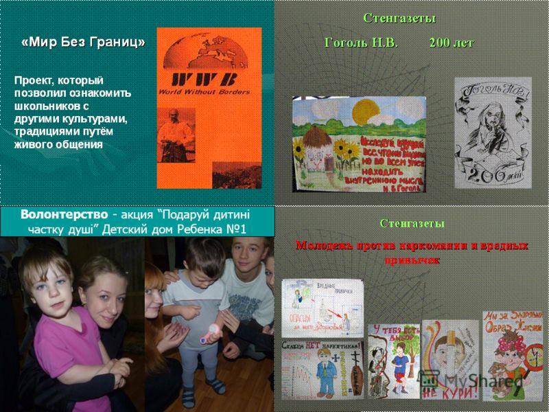 Волонтерство - акция Подаруй дитині частку душі Детский дом Ребенка 1