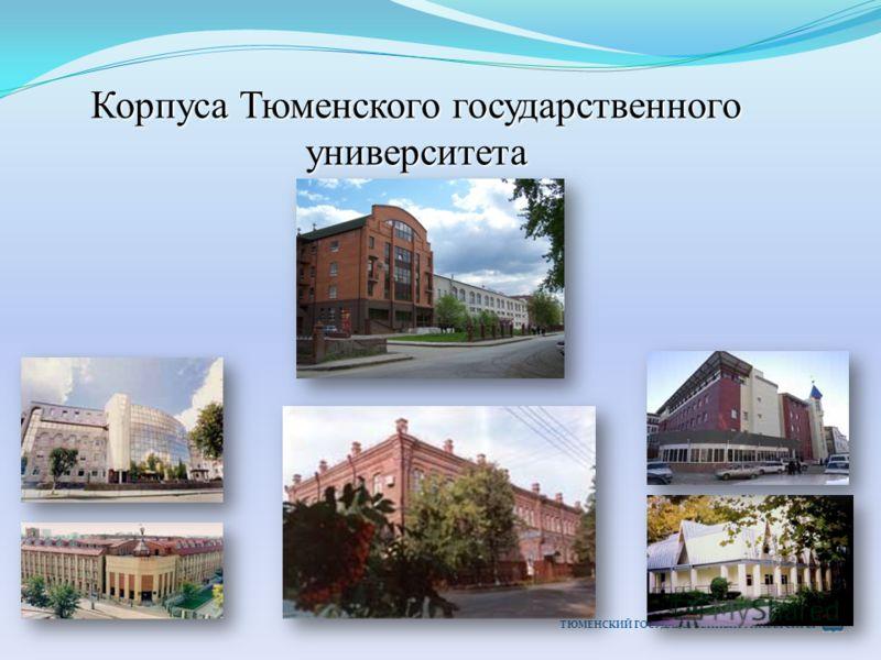 Корпуса Тюменского государственного университета