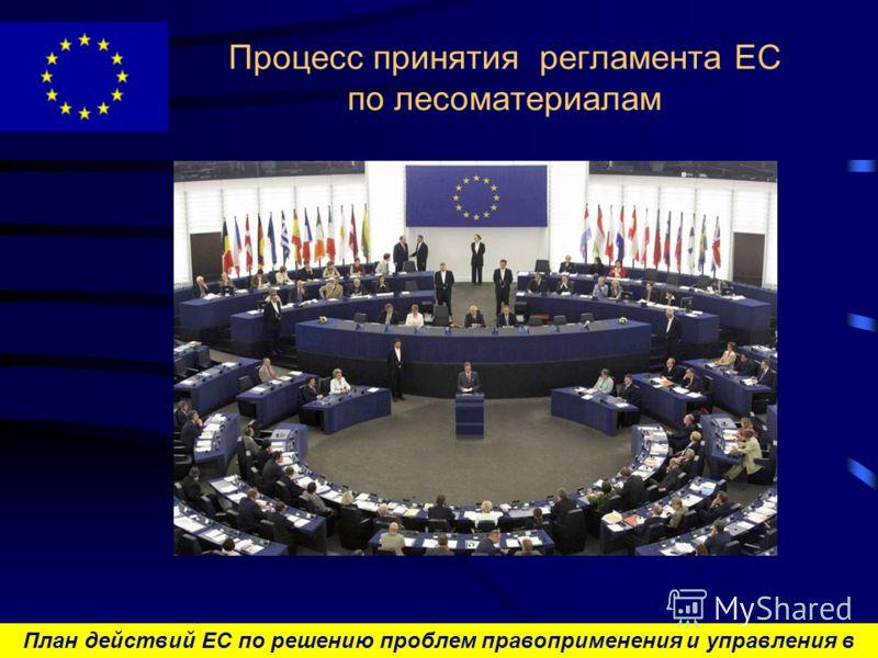 План действий ЕС по решению проблем правоприменения и управления в лесном секторе и торговли лесоматериалами Процесс принятия регламента ЕС по лесоматериалам