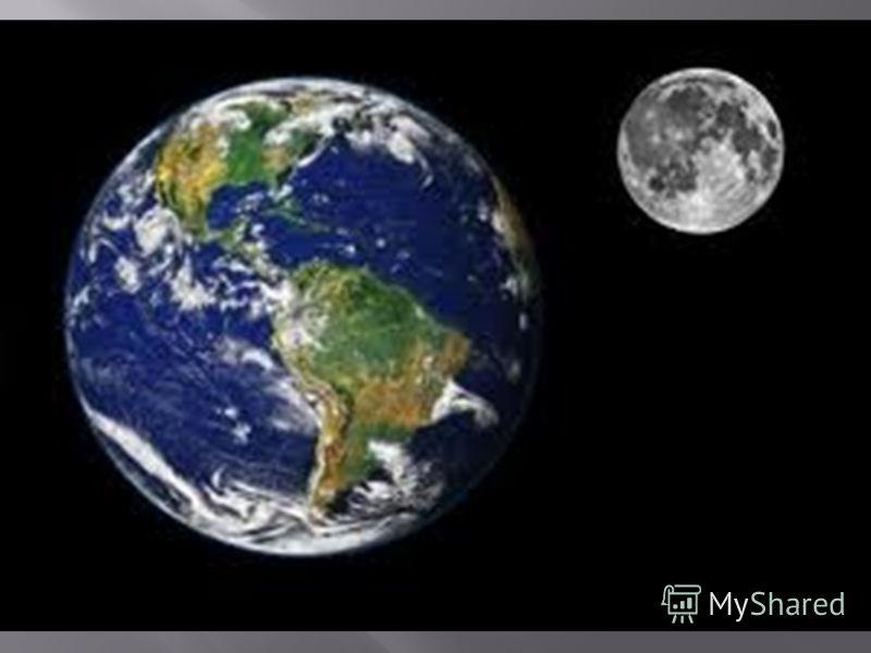 ЗЕМЛЯ и ЛУНА – ближний космос