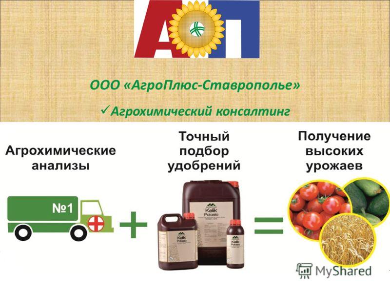 ООО «АгроПлюс-Ставрополье» Агрохимический консалтинг