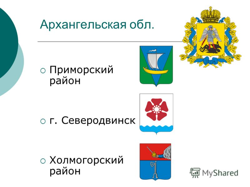 Архангельская обл. Приморский район г. Северодвинск Холмогорский район