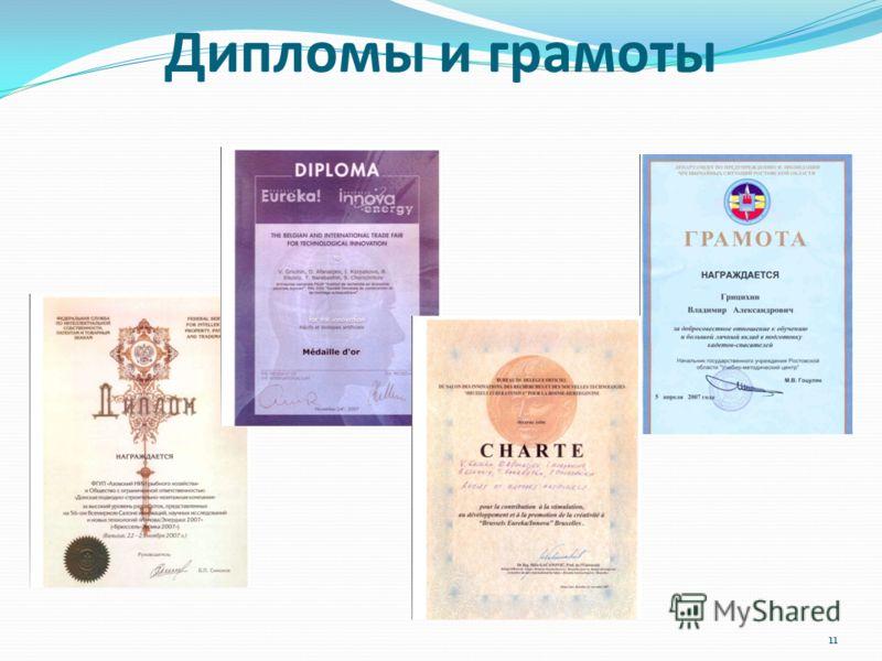 Дипломы и грамоты 11