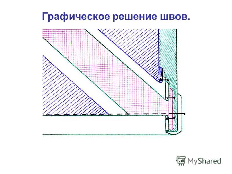 Графическое решение швов.