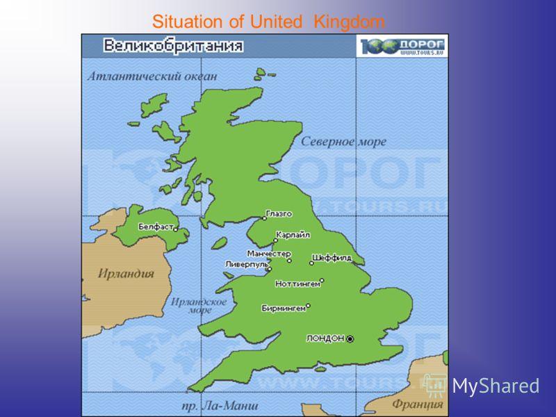 Situation of United Kingdom