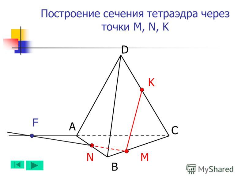 А B D C NM K F