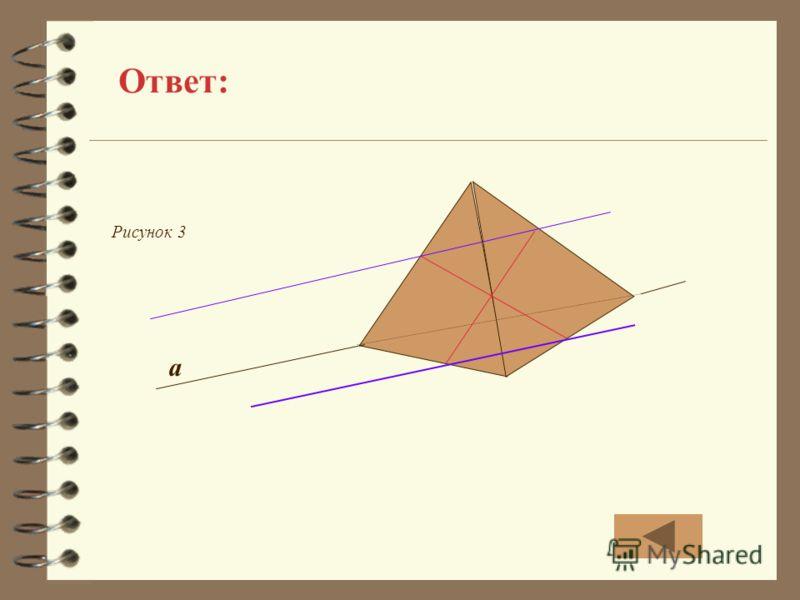 Ответ: a Рисунок 3