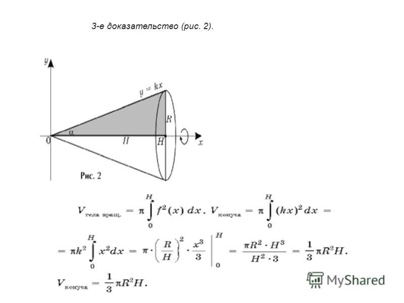 3-е доказательство (рис. 2).