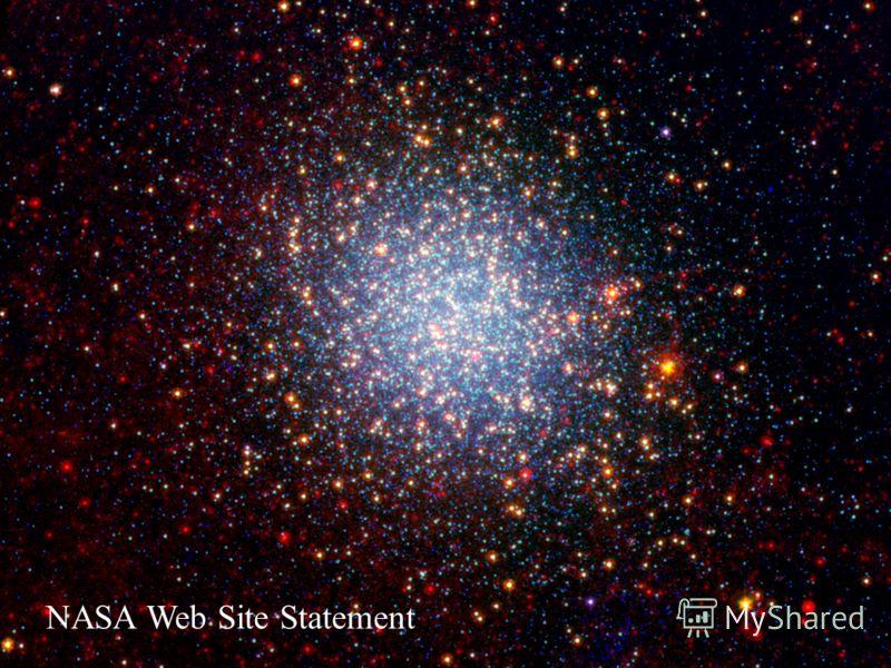 NASA Web Site Statement