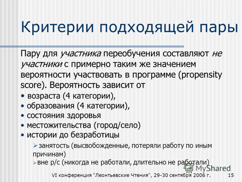 VI конференция