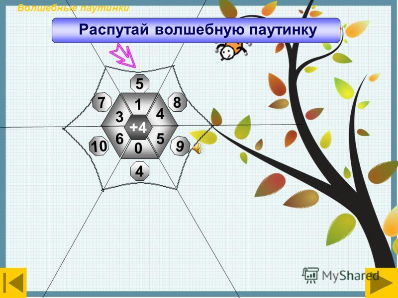 +2 3 5 7 0 1 6 7 3 8 5 9 2 Волшебные паутинки Распутай волшебную паутинку