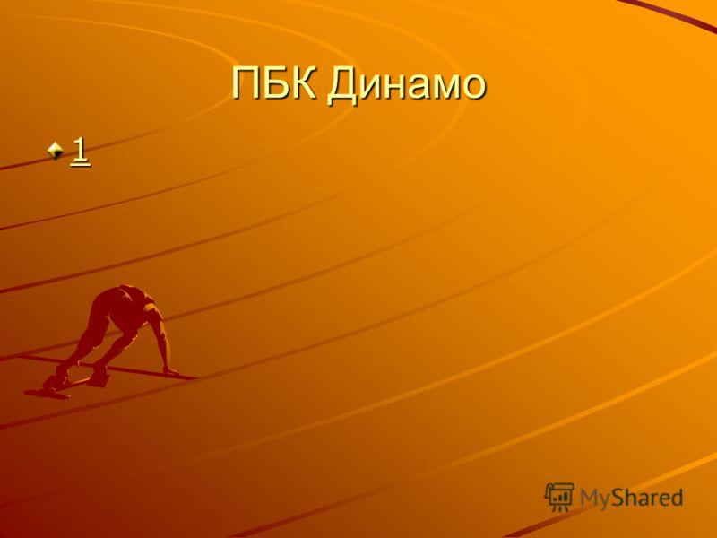 ПБК Динамо 1111