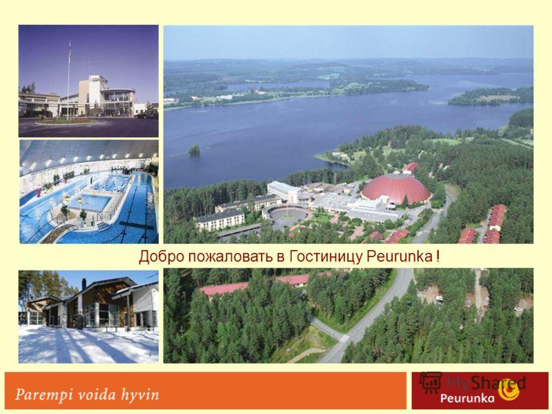 Добро пожаловать в Гостиницу Peurunka !