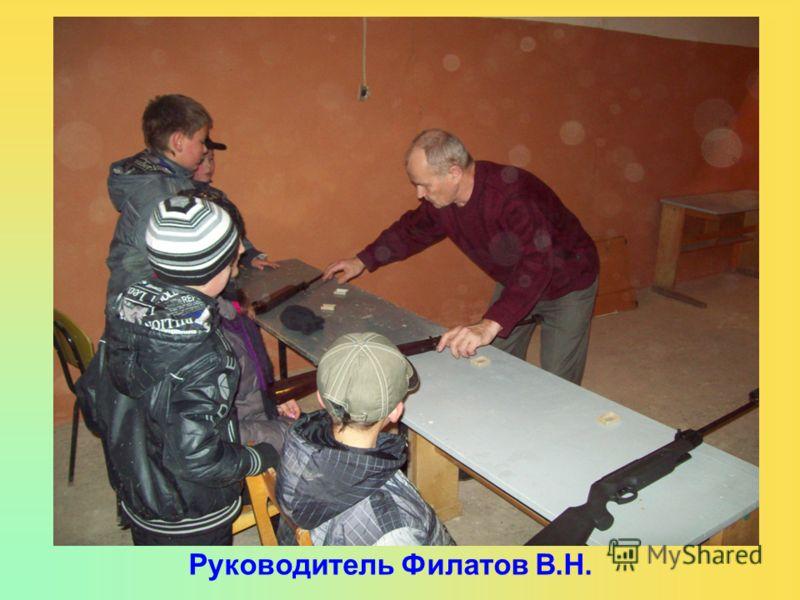 Руководитель Филатов В.Н.