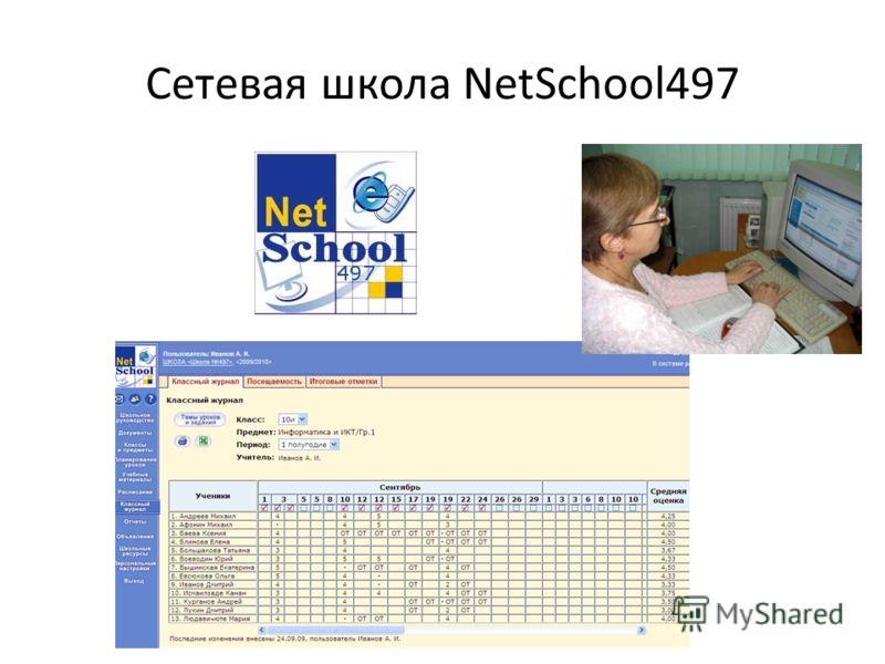 Сетевая школа NetSchool497