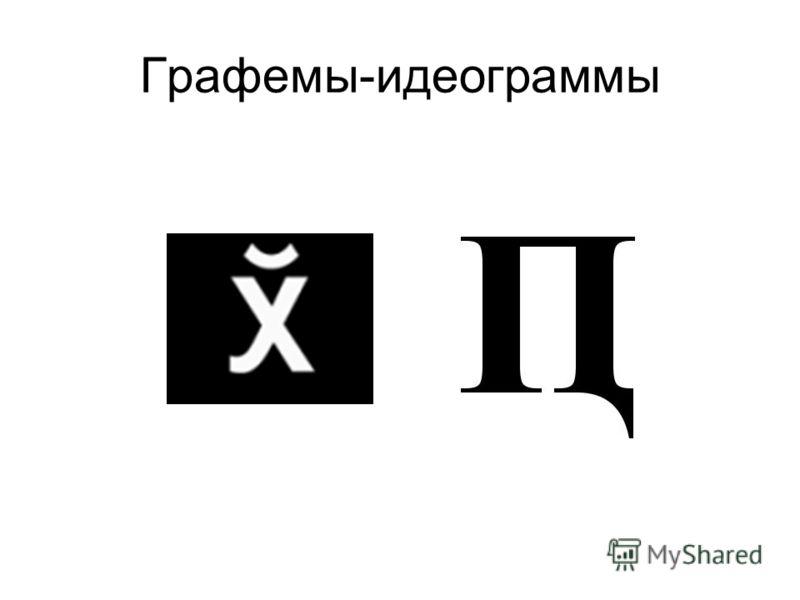 Графемы-идеограммы