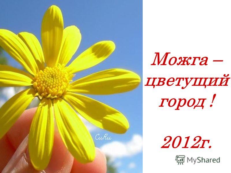 Можга – цветущий город ! 2012г.