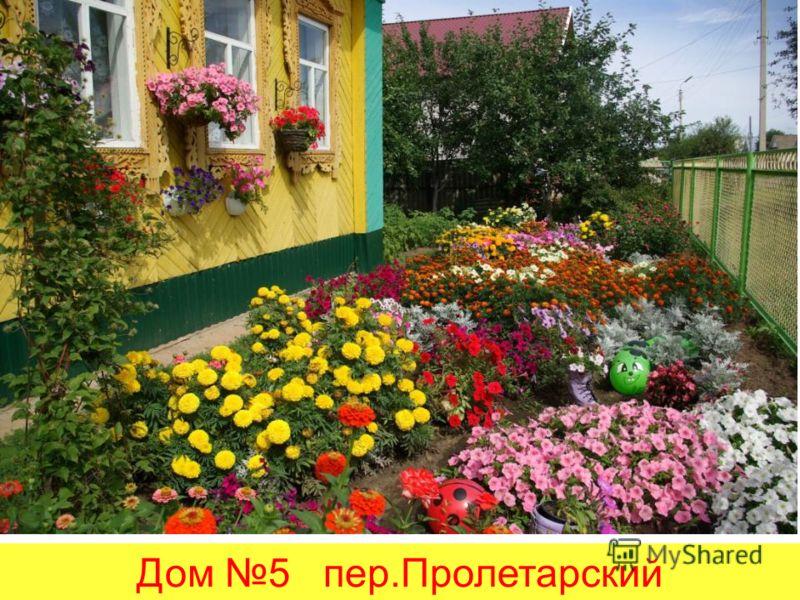 Дом 5 пер.Пролетарский