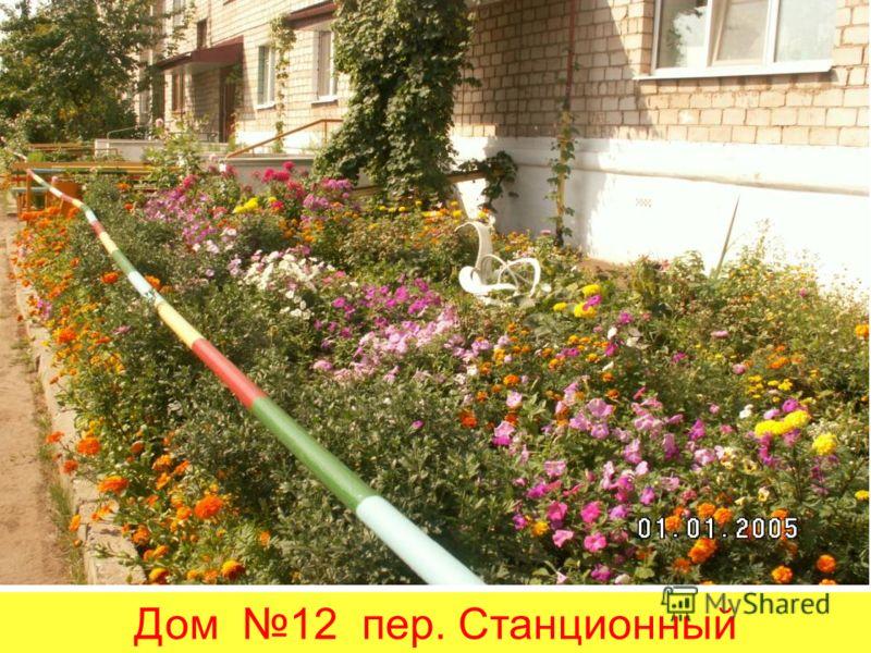 Дом 12 пер. Станционный