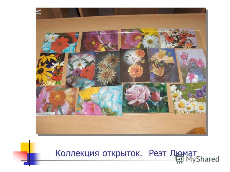 Коллекция открыток. Реэт Люмат