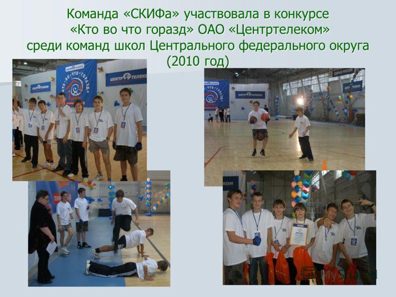 Участие в соревнованиях способствует формированию высокой мотивации к обучению, силы воли и ответственности